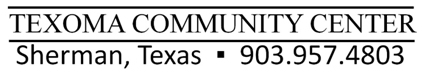 Texoma Community Center logo